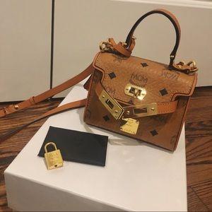 MCM heritage satchel.